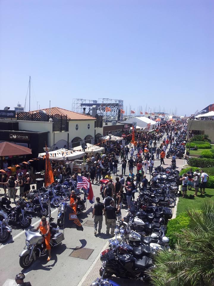 Harley Davidson evento Ostia